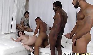 Slut sara goose team-fucked by nefarious schlongs