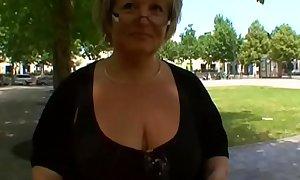Carole French BBW granny analfucked