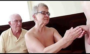 Pareja de 76 a&ntilde_os con corneador LustyGolden