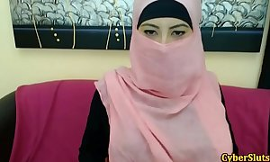 Real shy arab gals bare merely on cybercam - redcam99.com
