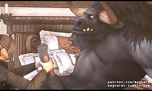 Lulu vs Tauren 2 SFM 3D Animation - 3d porn  game (cartoon, hentai, anime)