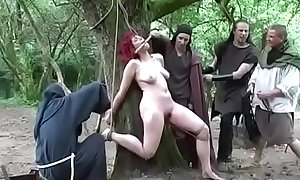 Redhead witch punishment