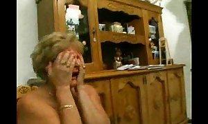 Italian mother and grandmother compulsory anal